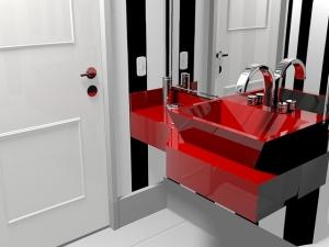 Fototapeta, elektroniczny kran – czyli inna łazienka