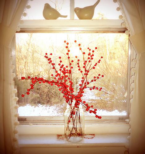 Modna aranżacja okna