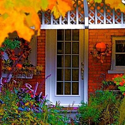 jesienne dekoracje domu